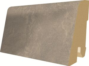 Plinta parchet, 60 x 17 mm, 2,4 m, Concrete Light Grey