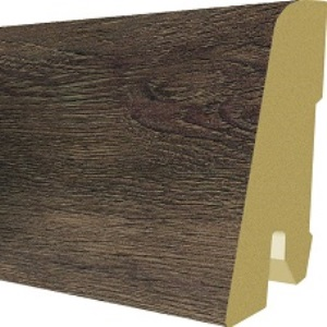 Plinta parchet, 60 x 17 mm, 2,4 m, Back Corton Oak