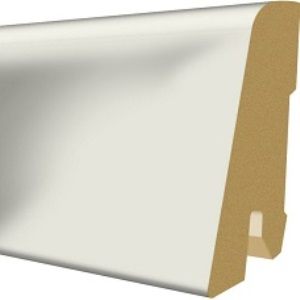 Plinta parchet, 60 x 17 mm, 2,4 m, Universal White